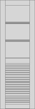Contoh Pintu Garasi / Pintu Ruko Model Kode FD 22   Pintu ...